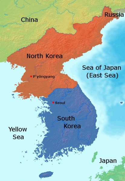 Korea Map